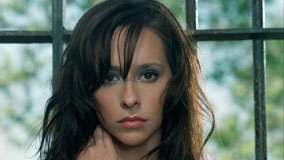Jennifer Love Hewitt Pink Lips And Cute Face Closeup